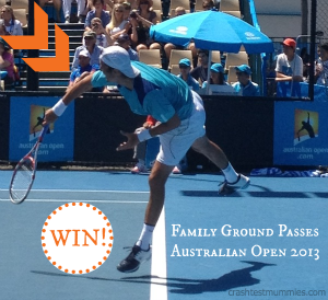 Win Australian Open Family Passes